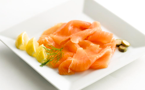 Long Sliced Side Smoked Salmon