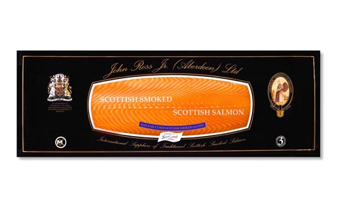 Sliced Side Whisky Smoked Salmon
