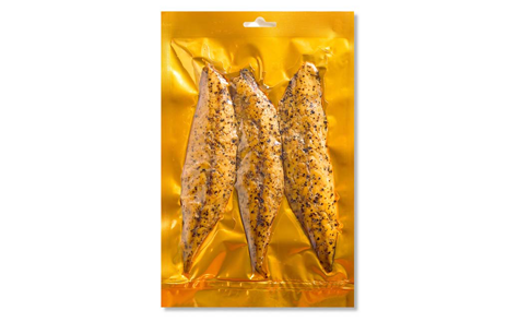Smoked Mackerel with Black Pepper