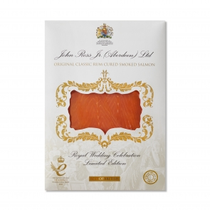 150g Royal Wedding Celebration Smoked Salmon