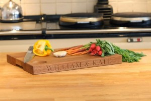 An Engraved Chopping Board