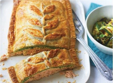 Salmon En-Croute: A Recipe