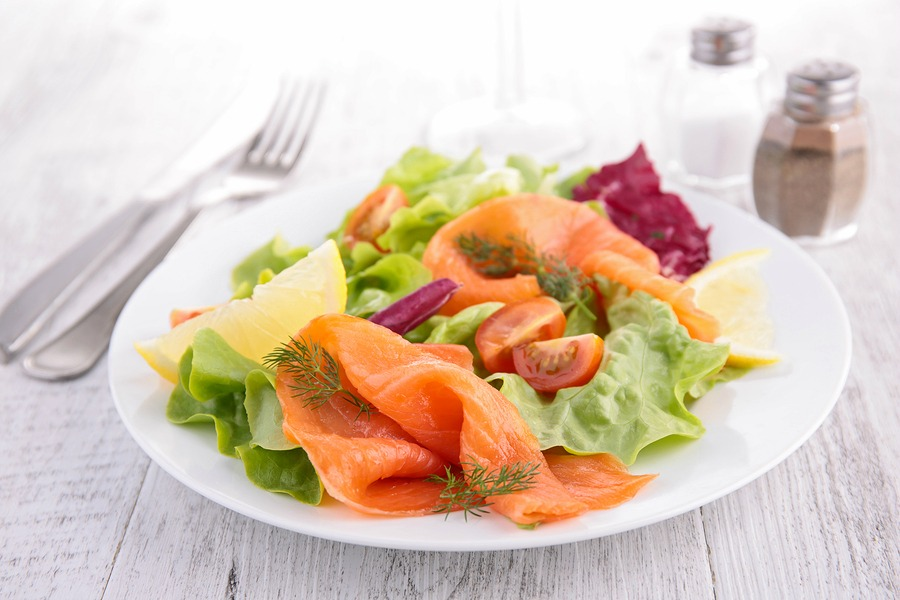 Smoked Salmon Salad With Lemon Dressing The John Ross Jr Blog