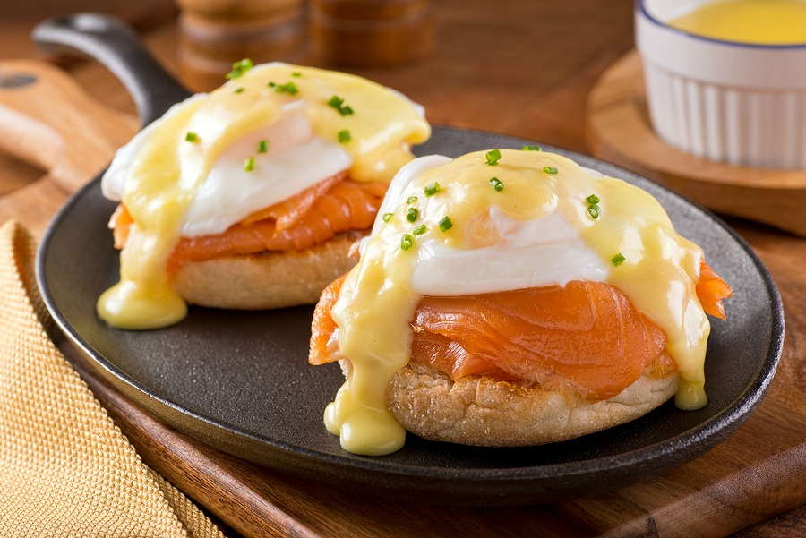 Smoked Salmon Eggs Benedict Recipes — Dishmaps