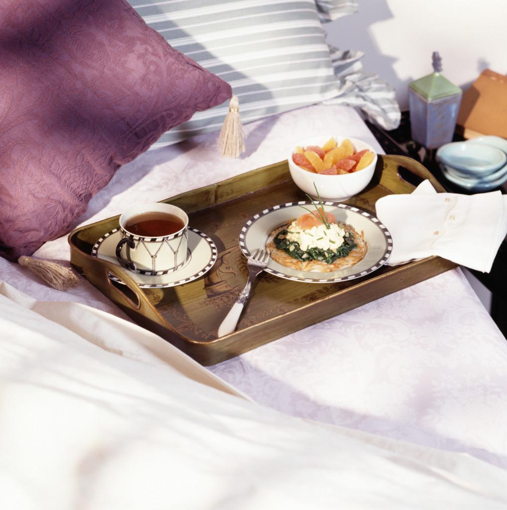 Make mum breakfast in bed this Mother's Day using John Ross Jr's smoked salmon breakfast recipe.