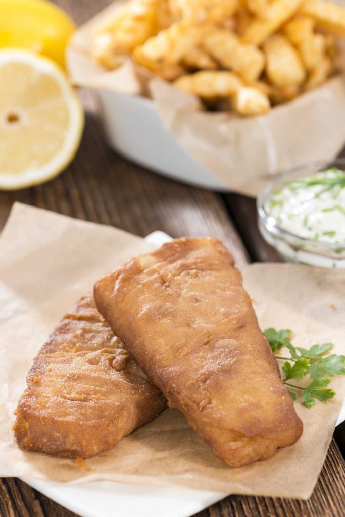 Healthy fish and chips with John Ross Jr for National Fish and Chip Day